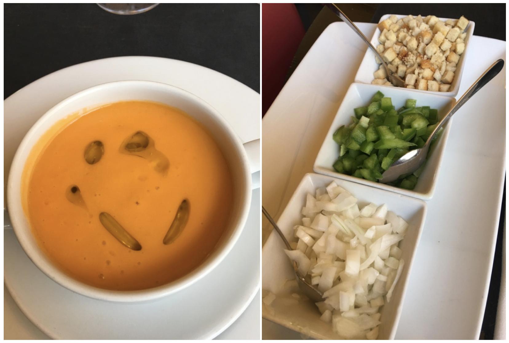 Gazpacho_restaurante el aguarde tenerife